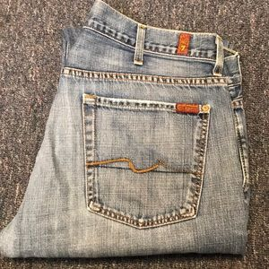 7 for all Mankind Mens Jeans size 38x40